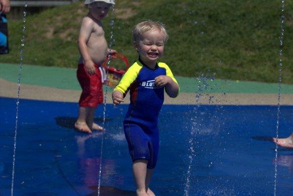 Splashpad - water play fun